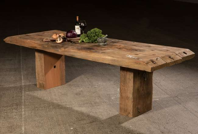 Funen Sea Plank dining Table IV/X