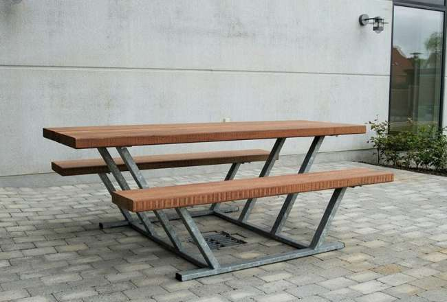 Pallas bench outdoor, 200cm