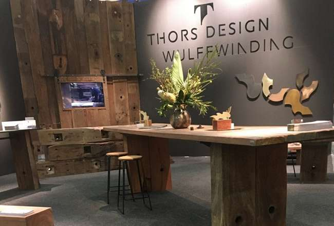 Thors Design Epi plank table Stockholm 2017