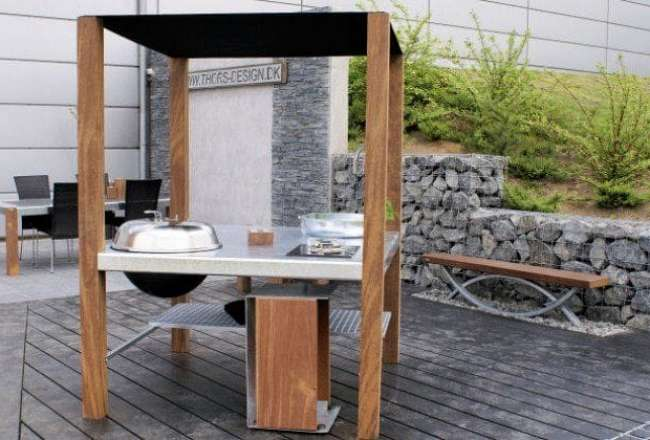 Thors Savra Island outdoor kitchen for the perfect outdoor life