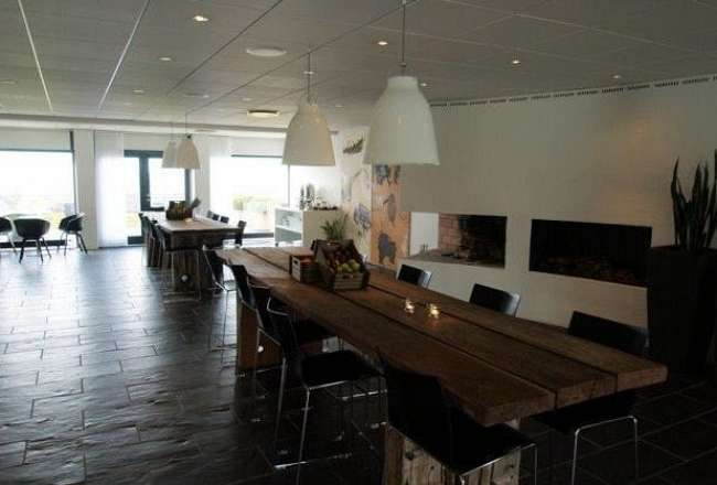Thors Gaia Epi plank table at Comwell Hotel