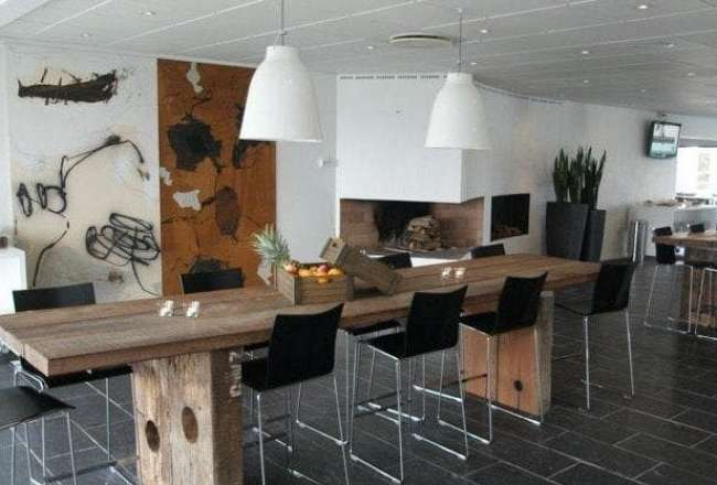 Thors Gaia and Epi plank tables Comwell Hotel