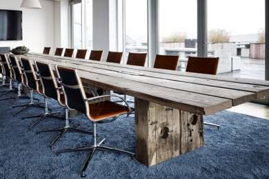 Remarkable Plank Tables Customized In Recycled Harbour Wood Thors Download Free Architecture Designs Scobabritishbridgeorg