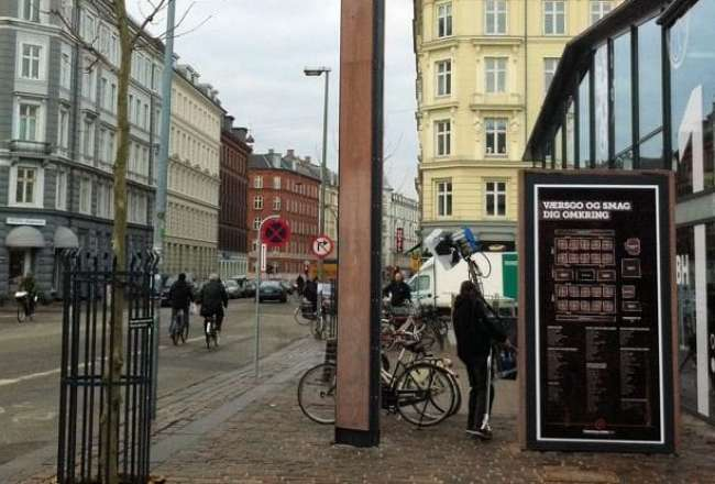 Thors Design sign post and Totem, Torvehallerne CPH