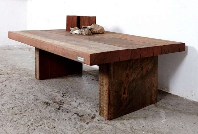 Thors Design Sofa table with a rustic (small) surface