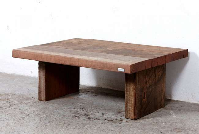 Thors Sofa table, rustic (small) surface, hight 45cm
