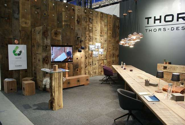 Thors deco panels wall decoration, Stockholm Exhibition